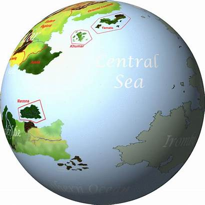 Globe Animated Spinning Clipart Rotating Earth Animation
