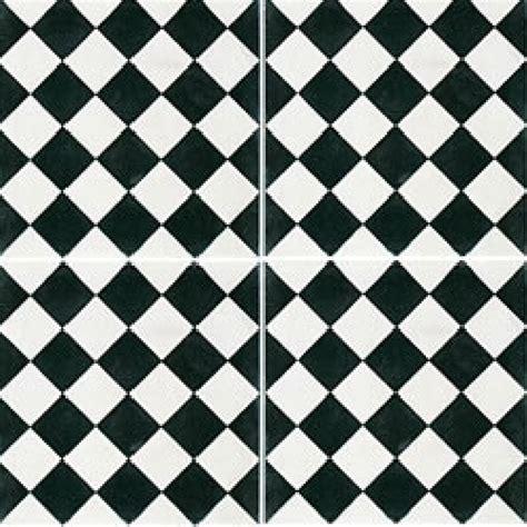 carrelage damier noir et blanc cuisine carreaux de ciment décor damier noir et blanc