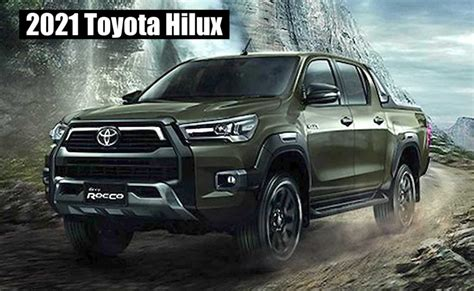 Learn more about our 4 wheel drive pickup truck here! Refreshed 2021 Toyota Hilux Makes Its World Debut! Does It ...