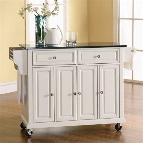 kitchen islands with granite top crosley newport granite top kitchen cart island portable 8309