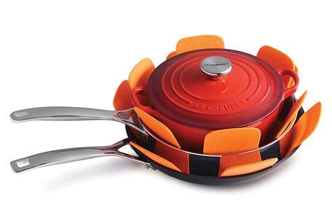 creuset le pan protectors felt cookware fp300 pack accessories cutleryandmore