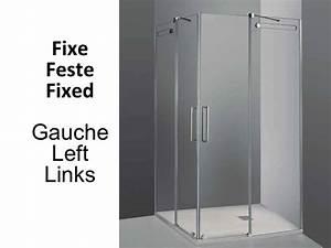paroi de douche accessoires largeur 70 longueur 70 150 With porte de douche coulissante avec accessoires salle de bain wc