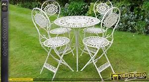 Salon De Jardin Fer Forgé Blanc. salon de jardin blanc en fer forg ...