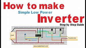 How To Make Simple Inverter