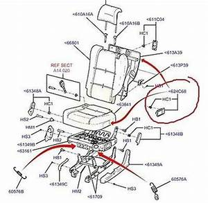 Genuine Ford Sx Sy Territory Rear Seat Pull Latch Assembly