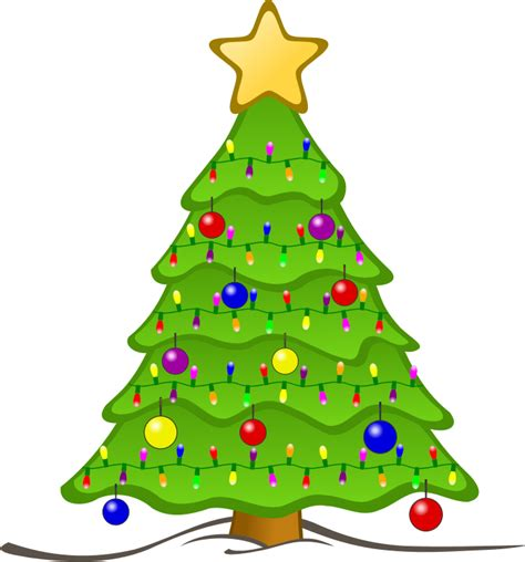 clipart animated christmas tree