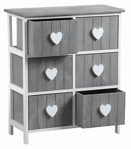 Commode Grise Ikea : commode grise 6 tiroirs maison design ~ Melissatoandfro.com Idées de Décoration