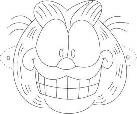 Batman The Long Halloween Pdf Free Download by Garfield Mask Printable Coloring Page For Kids