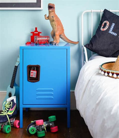 STORE   Kids Retro Locker Bedside Cabinet