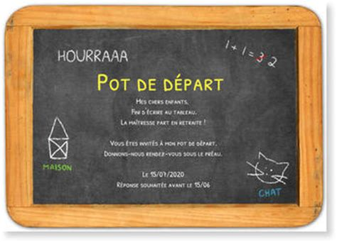un pot de depart carte d 233 part en retraite bonnyprints fr