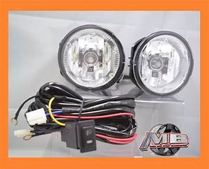 Fits 2002 2003 2004 Nissan Xterra Clear Fog Lights Lamps