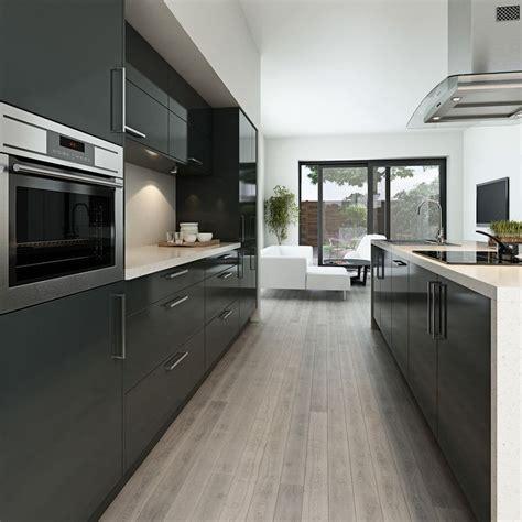 25 best ideas about modern grey kitchen on