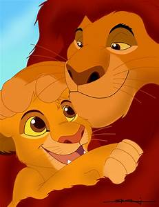 Simba And Mufasa Have A Chat Pictures