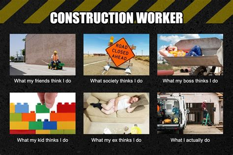 Meme Construction - construction worker meme funny pinterest construction worker and meme