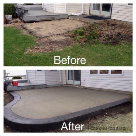 backyard cement patio ideas collection patio ideas