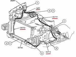 2001 Ford Windstar Cooling System Diagram