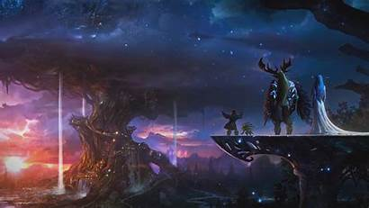 Warcraft Background Wallpapers Traveler Wall