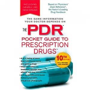 the pdr pocket guide to prescription drugs drug