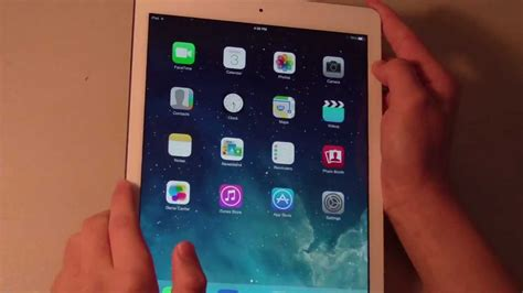 apple ipad air review white silver gb wi fi youtube