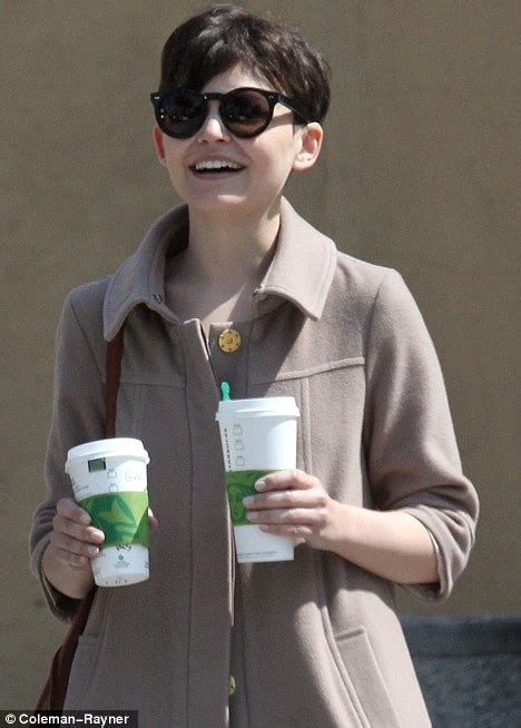 ginnifer goodwin removes  diamond ring   splits