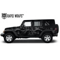 jeep wrangler wraps kryptek camo vehicle wrap kits