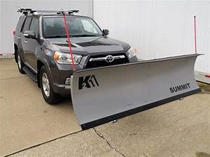Detail K2 Summit Snowplow For 2 U0026quot  Hitches