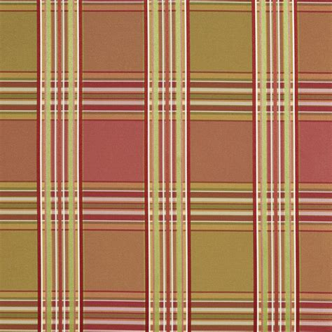plaid upholstery fabric pink and green shiny plaid silk look upholstery