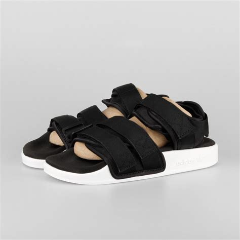 adidas adilette sandal w black white s75382 kix files