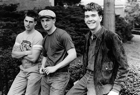 timothy hutton military school movie tom cruise sean penn and timothy hutton relax on location