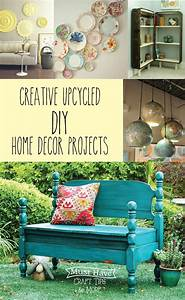 Must Have Craft Tips - Upcycled Home Decor Ideas