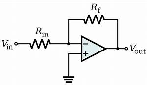 fileop amp inverting amplifiersvg wikimedia commons With op amp diagram