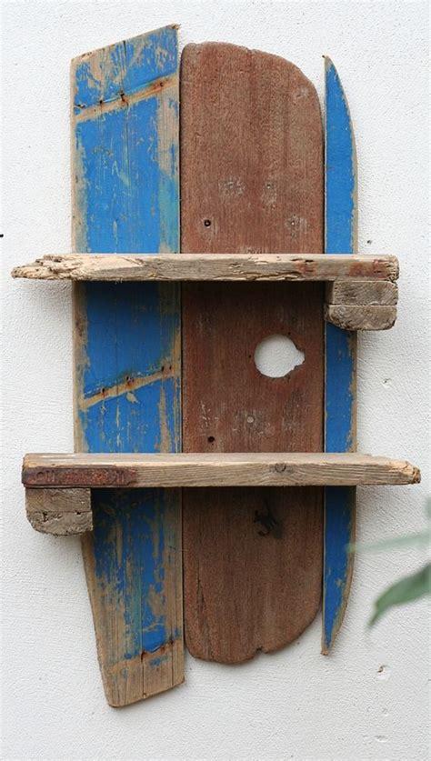 Fishing Boat Shelf by Driftwood Shelf Driftwood Fishing Boat Shelves Driftwood