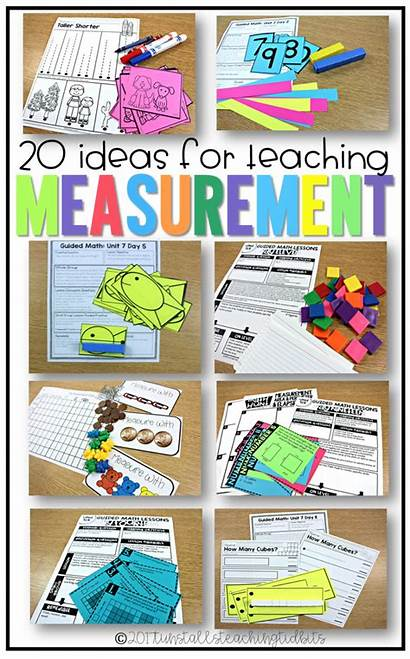 Measurement Grade Activities Math Teaching Lessons Kindergarten