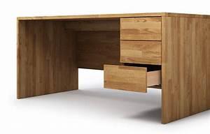 Schreibtisch Massivholz Eiche : kasan aus eiche schreibtisch nach ma ~ Whattoseeinmadrid.com Haus und Dekorationen