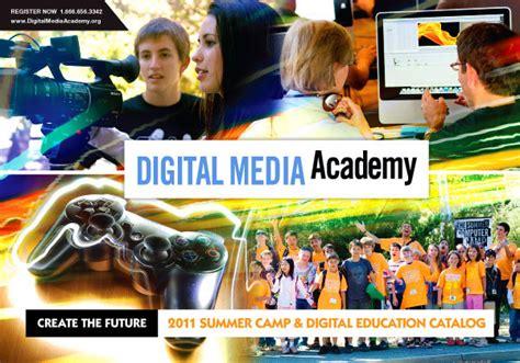 digital media classes digital media academy course catalog 2011 on behance