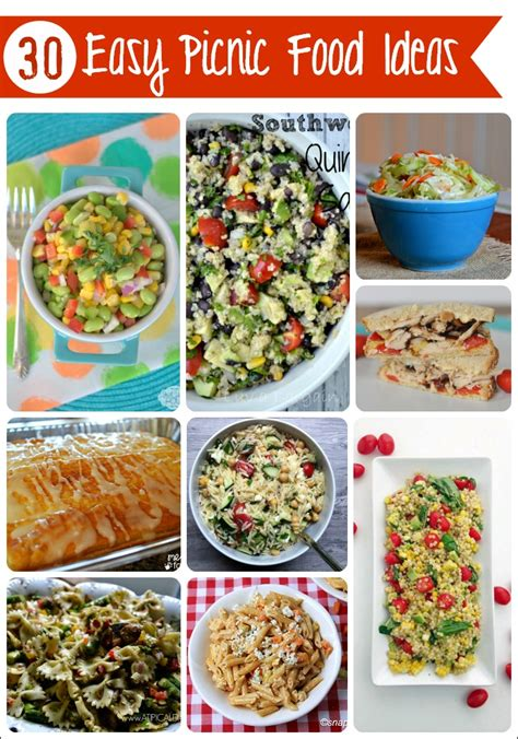picnic food ideas 30 easy picnic food ideas mess for less