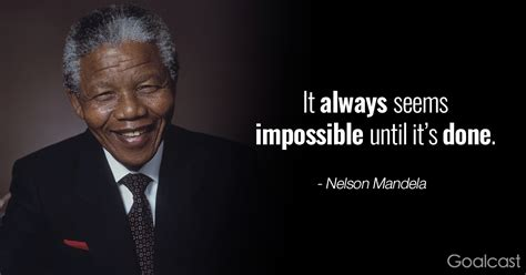 inspiring nelson mandela quotes   impossible