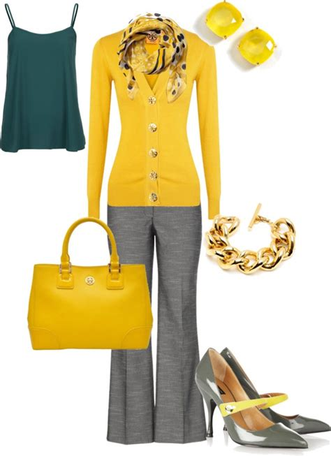 Mustard Yellow Pants Outfit