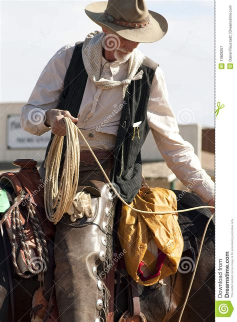 Old Western Cowboy Roper Royalty Free Stock Photography ...