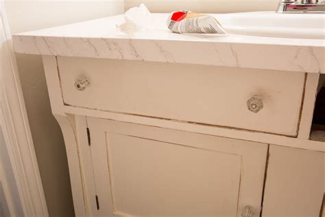 repurpose  sideboard   sink vanity