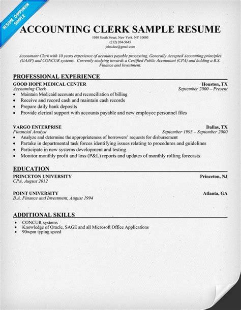 resume samples    write  resume resume