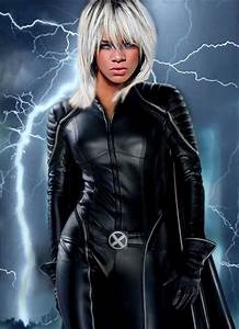 Rihanna Storm X-men by Rihedson on DeviantArt