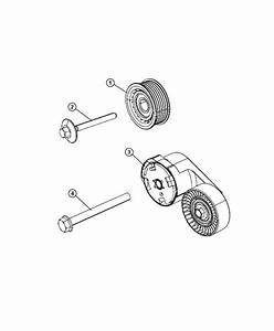 Dodge Durango Tensioner  Belt  Related  Pulleys  Module