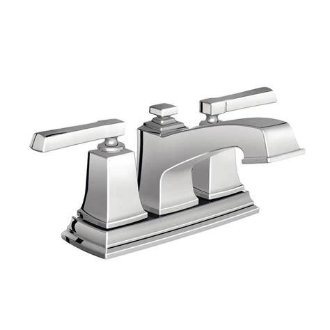 watersense kitchen faucet shop moen boardwalk chrome 2 handle 4 in centerset
