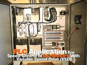 Plc Application For Speed Control Of Ac Motors With Vsd