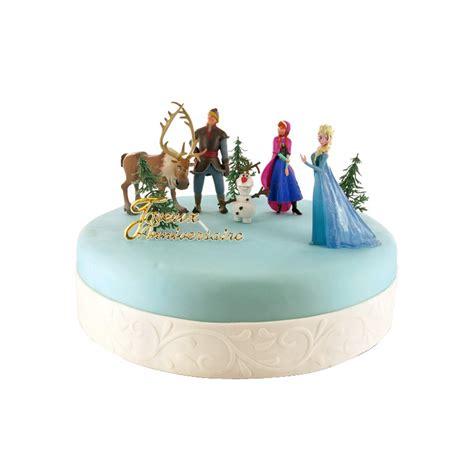 figurine decoration gateau reine des neiges