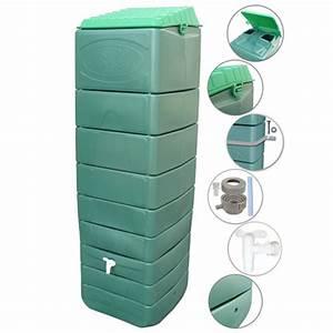 Recuperateur Eau De Pluie Mural : r cup rateur eau de pluie mural vert 300 litres ~ Dailycaller-alerts.com Idées de Décoration