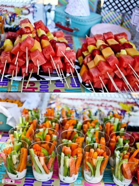 cook out ideas cookout love this idea of the fruit skewers and veggie cups with ranch dip on bottom memorial