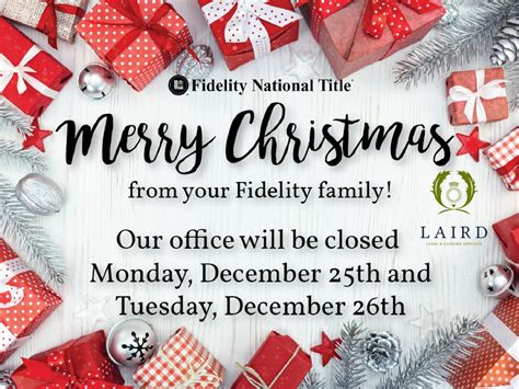 Merry Christmas from your Fidelity Family! – The Laird Law ...
