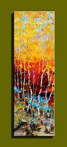 Abstract modern large canvas wall art hand painted
